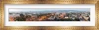 Framed City at Dusk, Sibiu, Transylvania, Romania