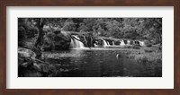 Framed Pool at New River Falls, West Virginia