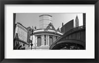 Framed Grand Central Station, Madison Avenue, New York
