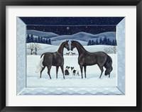 Framed Silent Night- December