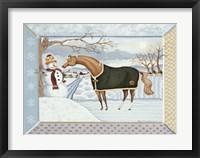Framed Winter Magic- January