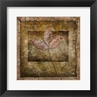 Framed Autumn Leaves II