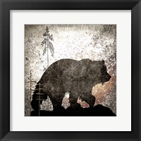 Framed Calling Bear