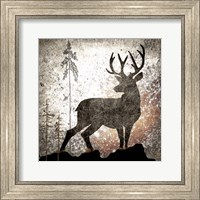 Framed Calling Deer