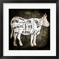 Butcher Shop II Framed Print