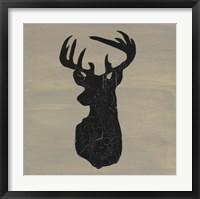Framed Love Deer