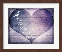 Framed True Love Story Never Ends