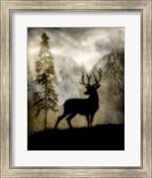 Framed Mystic Deer