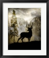 Framed Mystic Deer