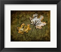 Framed Metallic Leaf 2