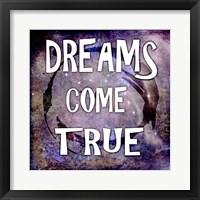 Cosmic - Dreams Come True Framed Print
