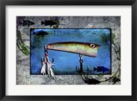 Framed Fishing - Bass Lure Poppy