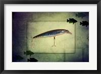 Framed Fishing - Deep Blue