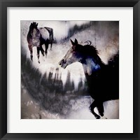 Framed Black Mare - Dream 1