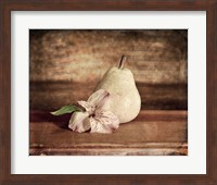 Framed Kitchen Pear 2