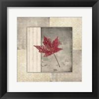 Framed Lodge Leaf Tile 1