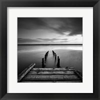 Framed Dorset Jetty