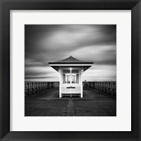 Framed Swanage Pier