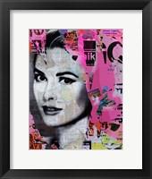 Framed Grace Kelly