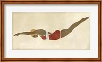 Framed Vintage Diver II