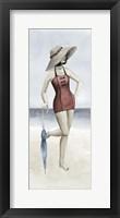 Beach Beauty I Framed Print