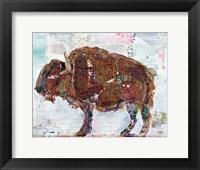 Framed El Buffalo Brown Crop