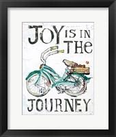 Framed Joy is in the Journey