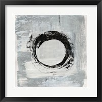 Framed Zen Circle I Crop