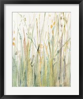 Framed Spring Grasses I Crop