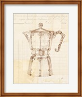 Framed Authentic Coffee III