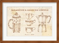 Framed Authentic Coffee I