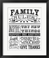 Framed Family Rules II
