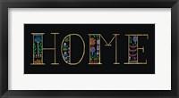 Framed Bright Folklore Home