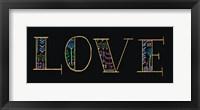 Framed Bright Folklore Love