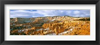Framed Bryce Amphitheater from Sunrise Point, Utah