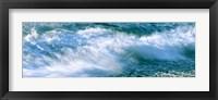 Framed Calumet Beach Waves, La Jolla, San Diego, California