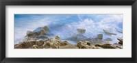 Framed Bird Rock, La Jolla, San Diego, California