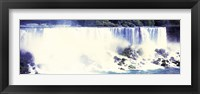 Framed American Side of Falls, Niagara Falls, New York