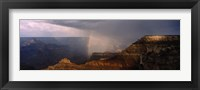 Framed Monsoon and Rainbow, Grand Canyon, Arizona