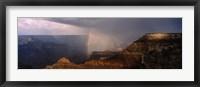 Framed Monsoon and Rainbow, Grand Canyon, Arizona
