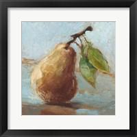 Framed Impressionist Fruit Study II