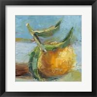 Framed Impressionist Fruit Study III