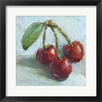 Framed Impressionist Fruit Study IV