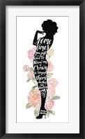 Iconic Woman I Framed Print