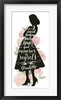 Iconic Woman IV Framed Print