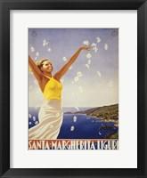 See South America III Framed Print