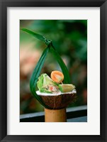 Framed Cuisine, Lime Marinated Fish, Viti Levu, Fiji