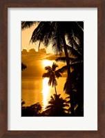 Framed Sunset, Taveuni Estates, Taveuni, Fiji
