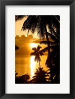 Framed Sunset, Taveuni Estates, Taveuni, Fiji