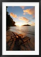 Framed Likuliku Lagoon Resort, Malolo Island, Mamanucas, Fiji
